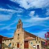 Saint James Way de Astorga da igreja de San Francisco Fotografia de Stock