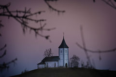 Saint Jamnik Church, Slovenia Stock Photo