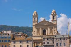 Saint-Jean-Baptiste Church in Bastia, Corsica Stock Image