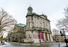 Saint Jean-Baptiste Church in Montreal, Canada Royalty Free Stock Image