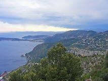 Saint Jean Cap ferrat Bay in the south of France : azur coast, coast of Nice Royalty Free Stock Photo