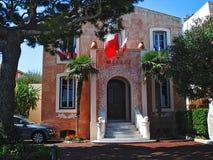 Saint Jean Cap Ferrat d'hôtel de ville Photos libres de droits