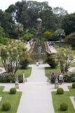 Gardens of the Villa Ephrussi de Rothschild Royalty Free Stock Photography