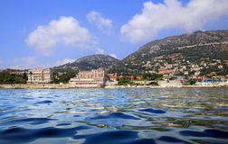 Saint Jean Cap Ferrat view Stock Images