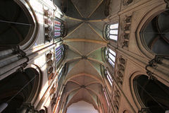 Saint Jean cathedral, Lyon Royalty Free Stock Image