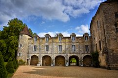 Saint-Jean-de-Cole is a medieval village in the north of the Dordogne, France Royalty Free Stock Images