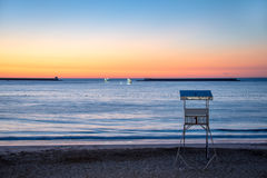 Saint Jean de Luz beach, France Royalty Free Stock Photos