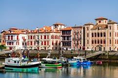 Saint-Jean-de-Luz harbour, France Stock Photo