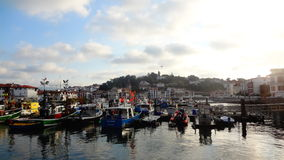 Saint-Jean-de-Luz port Stock Images