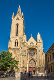 Saint Jean de Malte church of Aix-en-Provence Royalty Free Stock Image