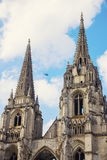 Saint-Jean-des-Vignes Abbey in Soissons Royalty Free Stock Photo