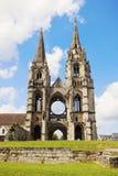 Saint-Jean-des-Vignes Abbey in Soissons Stock Photography