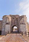 Saint Jean Gate (XIII c.)  in Provins France. UNESCO site Royalty Free Stock Photography