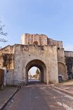 Saint Jean Gate (XIII c.)  in Provins France. UNESCO site Stock Photos