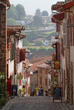 Saint-Jean-Pied-de-Port streets Stock Photos