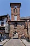 Saint-Jean-Pied-de-Port tower Stock Photo