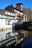 Saint-Jean-Pied-de-Port village Royalty Free Stock Photos