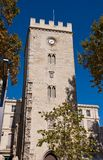 Saint-Jean Tower (XIV c.) in Avignon, France (monument historiqu Stock Photos
