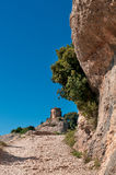 Saint Joan Hermitage,Montserrat Mountain,Spain Royalty Free Stock Photo