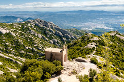 Saint Joan hermitage, Montserrat Mountain, Spain Stock Images