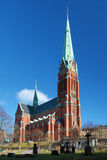 Saint Johannes Church in Stockholm Stock Images