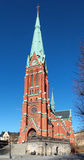 Saint Johannes Church in Stockholm Stock Photos