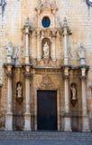 Saint John the Baptist in Alcala De Xivert, Spain Royalty Free Stock Photo
