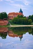 Saint John the Baptist Church scenery in Malbork Stock Photography