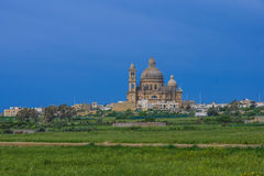 Saint John the Baptist church, Xewkija Stock Image