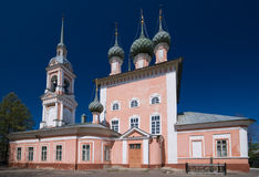 Saint John Chrysostom church in Kostroma Stock Photos