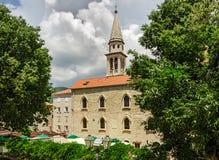 Saint John Church, Budva Royalty Free Stock Photos