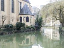 Saint John Church, Luxembourg Stock Photo
