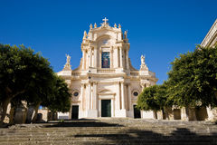 Saint John Church, Modica, Sicily Stock Images