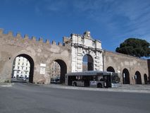 Saint John Door de Roma fotos de stock royalty free
