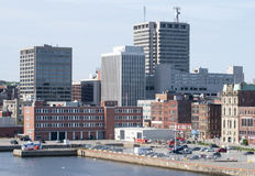 Saint John Downtown Stock Photography