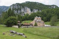 Saint John the Evangelist Monastery near Poganovo, Serbia Stock Photo