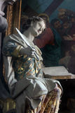 Saint John the Evangelist. St John the Evangelist, statue on the church altar Stock Photos