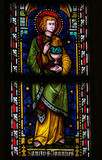 Saint John the Evangelist - Stained Glass Royalty Free Stock Images