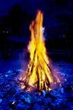 Saint john eve bonfire celebration Stock Photo