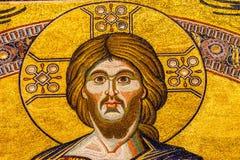 Saint John Florence Italy de Jesus Christ Mosaic Dome Bapistry fotografia de stock
