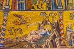 Saint John Florence Italy de Joseph Egypt Mosaic Dome Bapistry foto de stock royalty free
