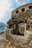 Saint John fortress in Kotor, Montenegro Stock Photo