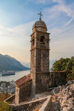 Saint John fortress in Kotor Royalty Free Stock Photography
