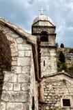 Saint John fortress in Kotor Stock Images