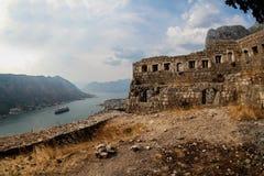 Saint John fortress in Kotor, Montengro Royalty Free Stock Photo