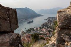 Saint John fortress in Kotor, Montengro Royalty Free Stock Photos