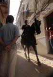 Saint john horse festivity in minorca Stock Photography