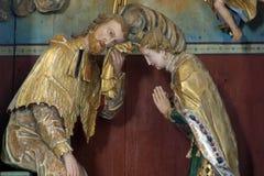 Saint John of Nepomuk Stock Images
