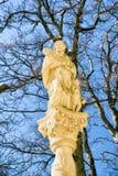 Saint John of Nepomuk statue in Marianska hora, Slovakia Stock Photo