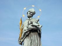 Saint John of Nepomuk Stock Images
